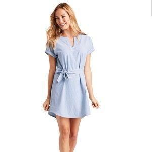 VINEYARD VINES UPF Striped Harbor Tunic Dress-M&L